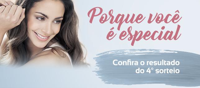 """Promoção """"Porque Você É Especial"""" - Resultado do 4º Sorteio"""