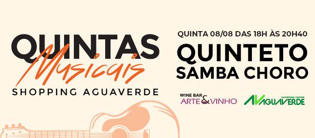 Quintas Musicais - 08/08/2019