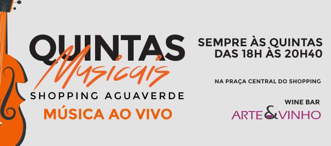 Quintas Musicais Shopping AguaVerde