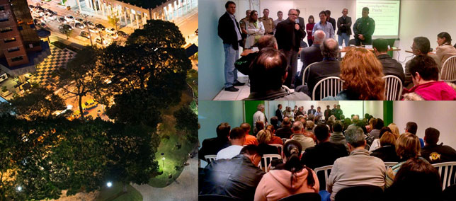 Shopping AguaVerde sedia reunião do Conseg