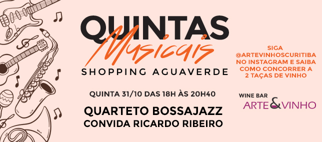 Quintas Musicais - 31/10/2019